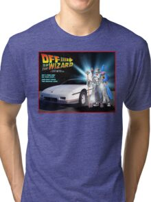 Off to be the Wizard Tri-blend T-Shirt