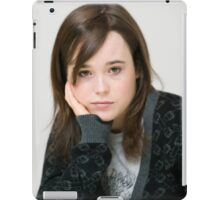 Ellen Page are you kidding me? iPad Case/Skin