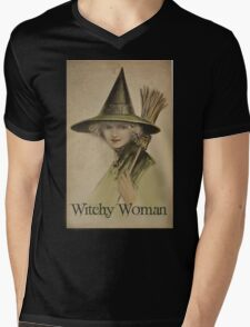 Witchy Woman Mens V-Neck T-Shirt