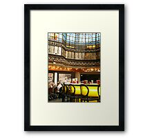 Bar - Paris, France Framed Print