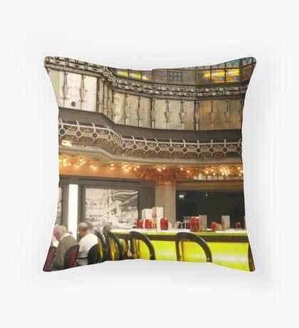 Bar - Paris, France Throw Pillow