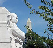 Martin Luther King, Jr. Memorial by Daniel B McNeill