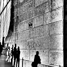 NYC Silver Walk by infiniteartfoto