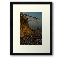 fey santa barbara sunset Framed Print
