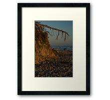 fey santa barbara sunset Framed Print