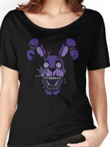 Five Nights at Freddy's - FNAF 4 - Nightmare Bonnie Women's Relaxed Fit T-Shirt