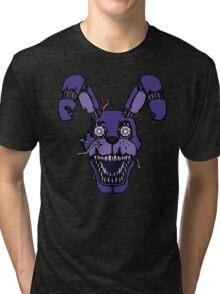 Five Nights at Freddy's - FNAF 4 - Nightmare Bonnie Tri-blend T-Shirt