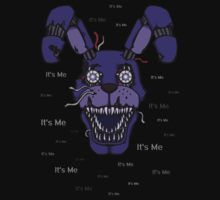 Five Nights at Freddy's - FNAF 4 - Nightmare Bonnie - It's Me Kids Tee