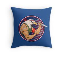 Eaglebro Throw Pillow