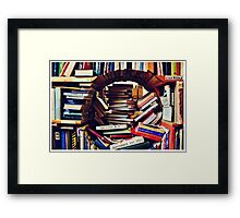 Reading Zone Framed Print