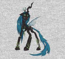 My Little Pony - MLP - FNAF - Queen Chrysalis Animatronic One Piece - Long Sleeve