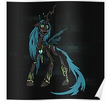 My Little Pony - MLP - FNAF - Queen Chrysalis Animatronic Poster