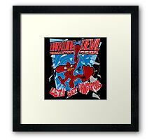 The Duck Without Fear Framed Print