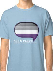 AAW Ace & Proud (Dark) Classic T-Shirt