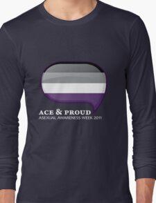 AAW Ace & Proud (Dark) Long Sleeve T-Shirt