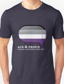 AAW Ace & Proud (Dark) T-Shirt