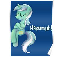 My Little Pony - MLP - Lyra Sitting Poster