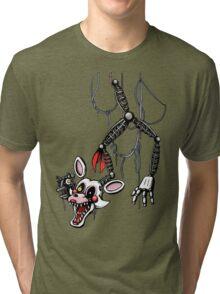 Five Nights at Freddy's - FNAF 2 - Ceiling Mangle Tri-blend T-Shirt