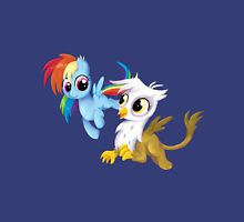 My Little Pony - MLP - Filly Rainbow Dash and Gilda Unisex T-Shirt