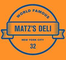 Matz's Deli by typeo