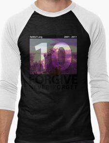 Forgive: 9/11 Ten Year Anniversary Men's Baseball ¾ T-Shirt
