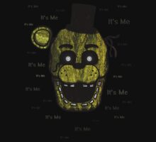 Five Nights at Freddy's - FNAF 3 - Phantom Freddy - It's Me Baby Tee