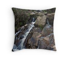 Waterfall Dandenong Ranges Throw Pillow