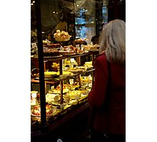 peoplescapes #353, which cake Photographic Print