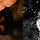 Self-Portrait Diptych  by DearMsWildOne