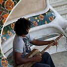 peoplescapes #296, blues to gaudi by stickelsimages