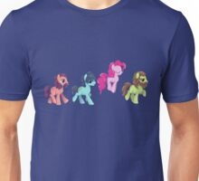 My Little Pony - MLP - Pinkie Pie and The Beatles Unisex T-Shirt