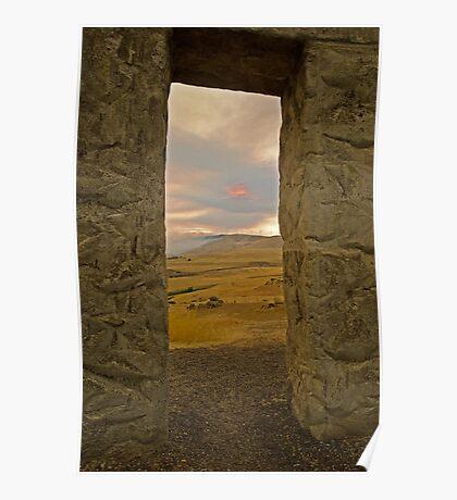 The Doorway at Stonehenge Poster