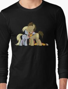 My Little Pony - MLP - Derpy and The Doctor Long Sleeve T-Shirt