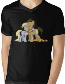 My Little Pony - MLP - Derpy and The Doctor Mens V-Neck T-Shirt