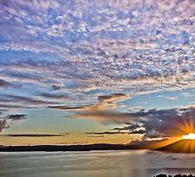 Sunset, Sound of Sleat by derekbeattie