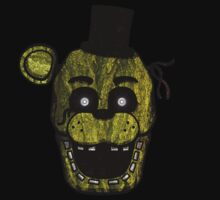 Five Nights at Freddy's - FNAF 3 - Phantom Freddy Kids Tee
