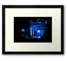 Tabletop Shot Framed Print
