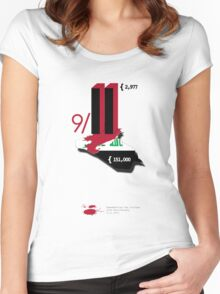 9/11 Women's Fitted Scoop T-Shirt