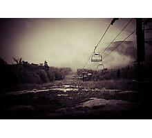 Retro Ski Photographic Print
