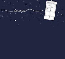 Fantastic TARDIS by LadyElizabeth