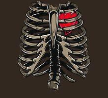 Rib Cage & Heart Unisex T-Shirt