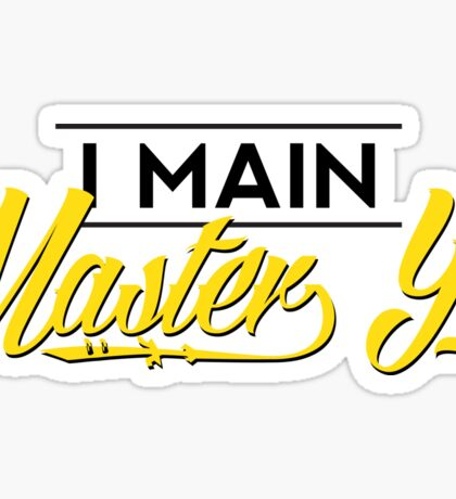 I Main Master Yi Sticker