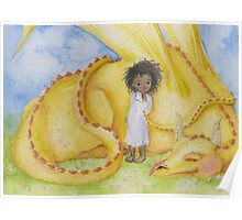 Girl with a Dragon Poster