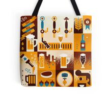 Craft Beer Concept Tote Bag