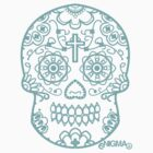 The Skull... but blue by EnigmaBand