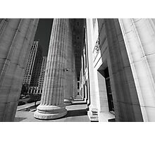 Colonnade 1 Photographic Print