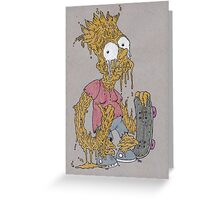 Eat My Drips, Man! Greeting Card
