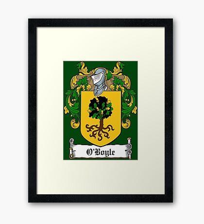 O'Boyle (Donegal)  Framed Print