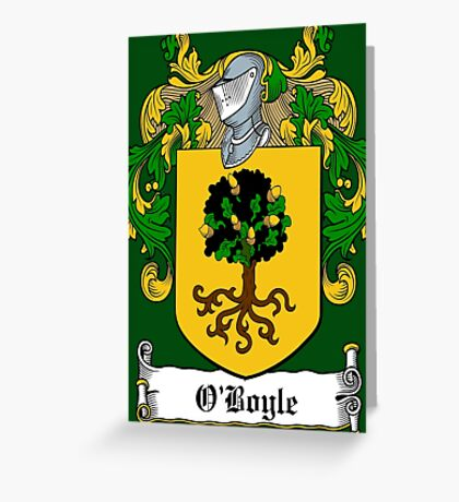 O'Boyle (Donegal)  Greeting Card