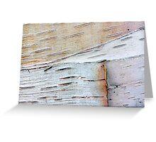 tactile whites Greeting Card